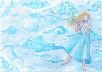 Day 5 : BLUE - Palette Challenge by MinaChawn