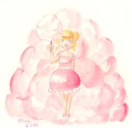 Day 7 : PINK - Palette Challenge by MinaChawn