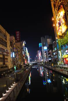 Night on Osaka