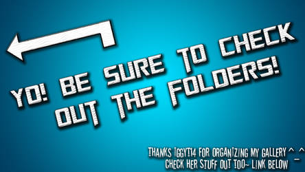 Heck yes there are folders! by Sci-Fi-Masterz-All