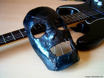 Raw Goth Mask by xMepux