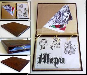 My drawings binder by xMepux