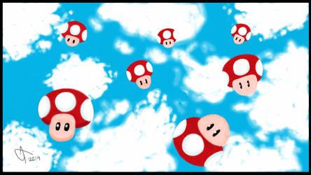 It's Raining Mushrooms by shanemcgovern313