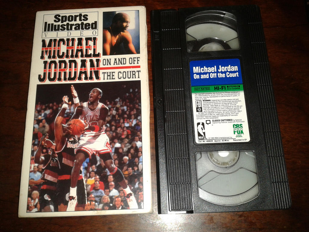 Michael Jordan VHS by omrgms88