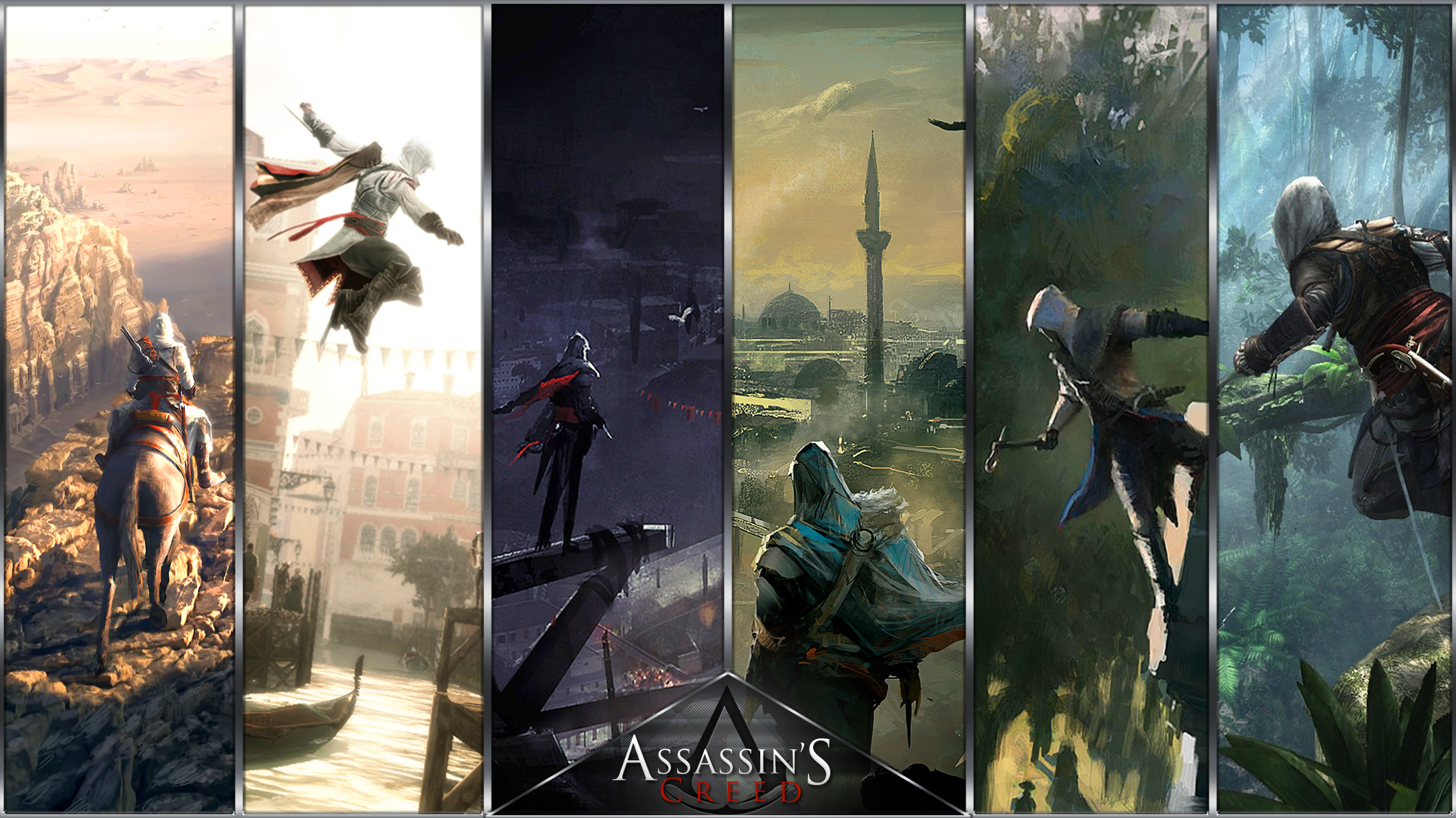 Assassin S Creed Wallpaper By Theeviln On Deviantart