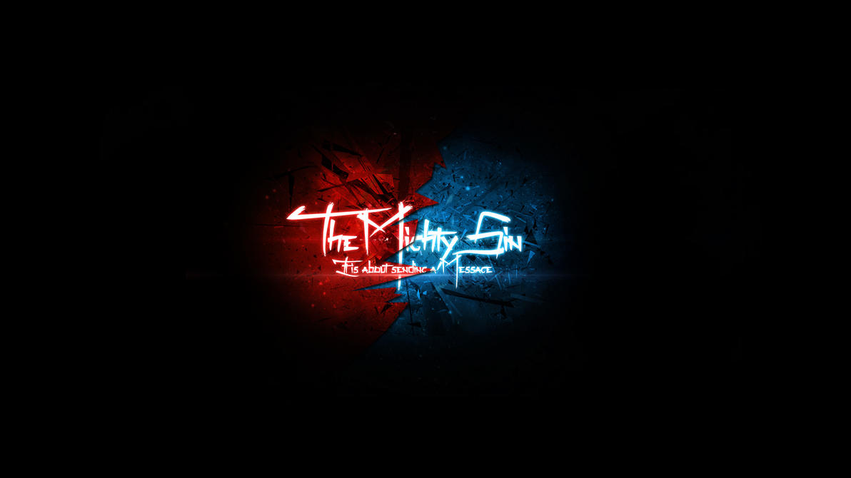 youtube background for the mighty sin by theeviln on