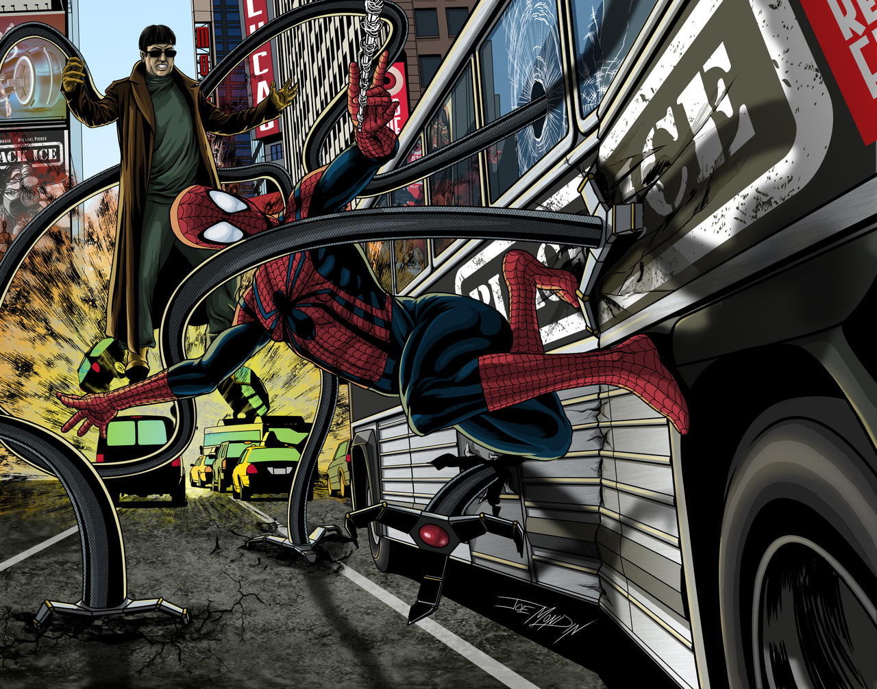 Real Doc Ock Arms? The Line Between Comics and Reality Blurs Again Spiderman_vs_dr__octopus_2_by_joegrafix-d5f9azo