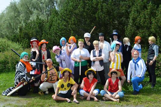One Piece cosplay Animecon XI