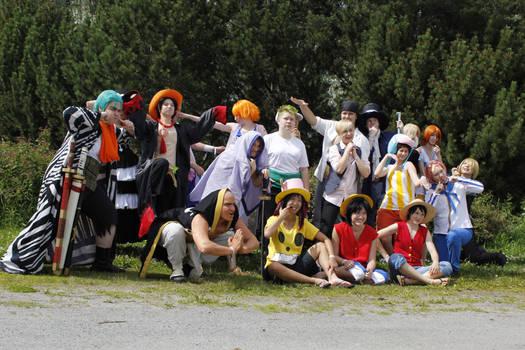 One Piece cosplay Animecon XI fun