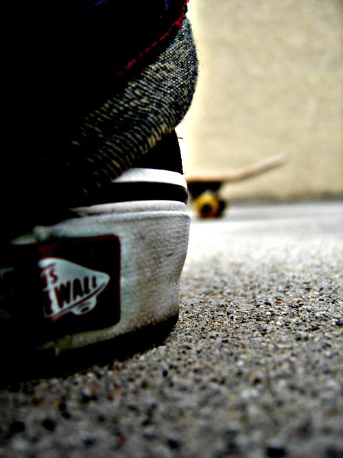 Vans Skateboarding By Khenglim89