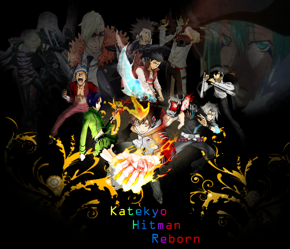 katekyo hitman reborn wallpaper by kmoo12 on deviantart