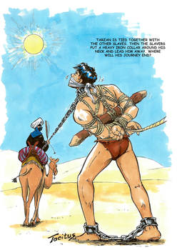 Tarzan captured by Arab slave traders part 2