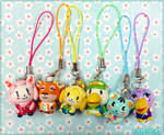 Animal Crossing Clay Charms