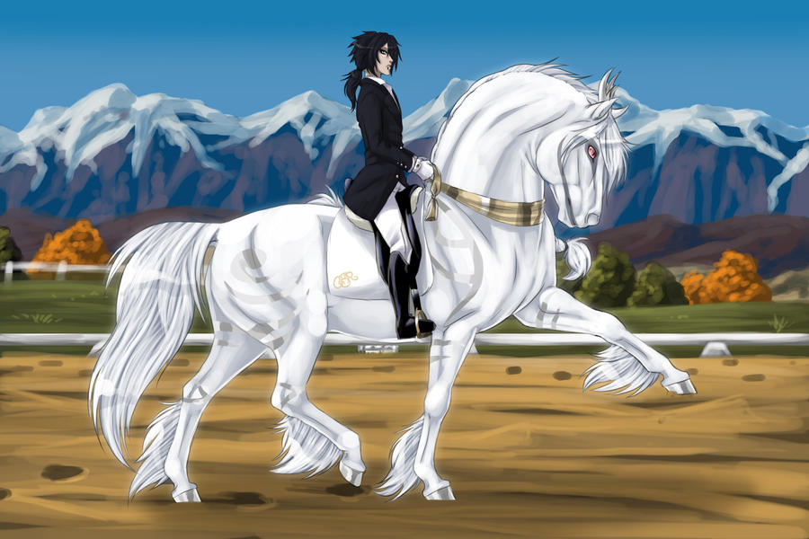 Shirakami Dressage by WolfsMoon1