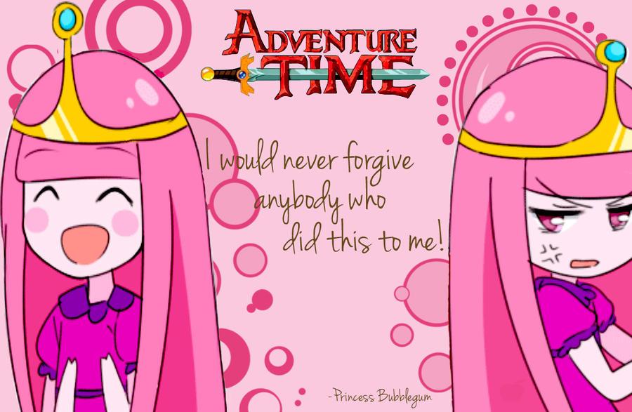 Adventure Time Princess Bubblegum Wallpaper