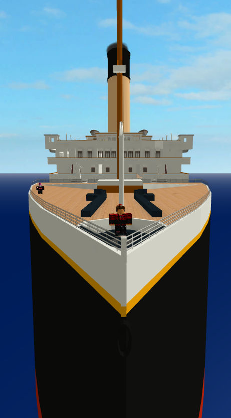 Roblox Playing Roblox Titanic By Nathanael352 On Deviantart