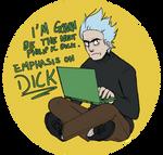 Novelist Rick- Pocket Mortys