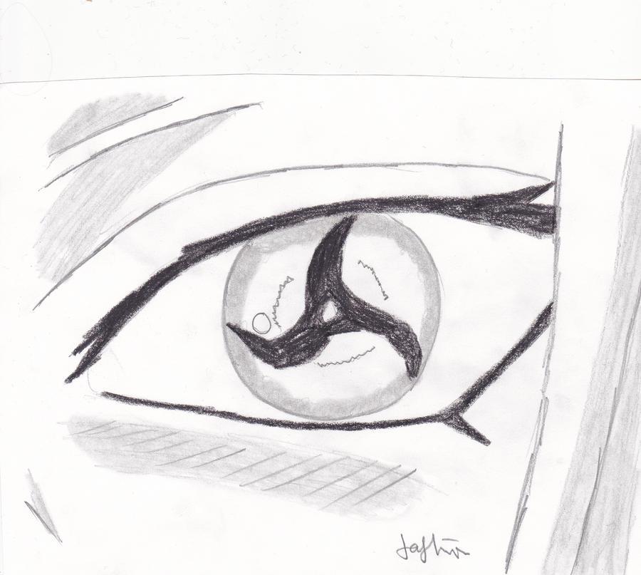 Шаринган рисунок 4