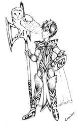 Inktober #15: Queen of Legend