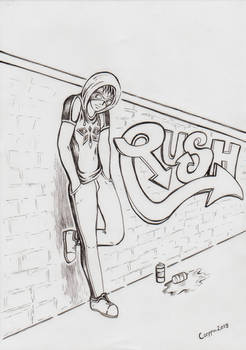 Inktober #18: Certain Kind of Rush