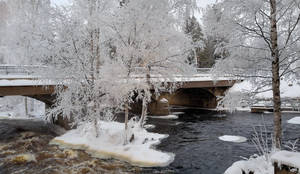 Vilppulankoski River - Bridge
