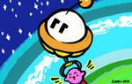 Let's Go Kirby! ~ Part Time UFO ~ Fan Art