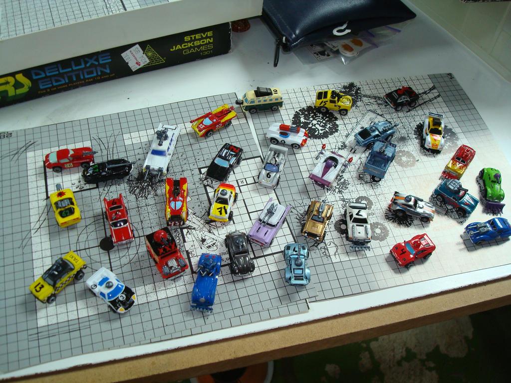 Car Wars: Homemade Car Wars Figures By Gmfate On DeviantArt