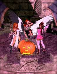 Halloween Court by teturo