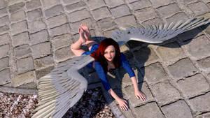 Angel Down by teturo