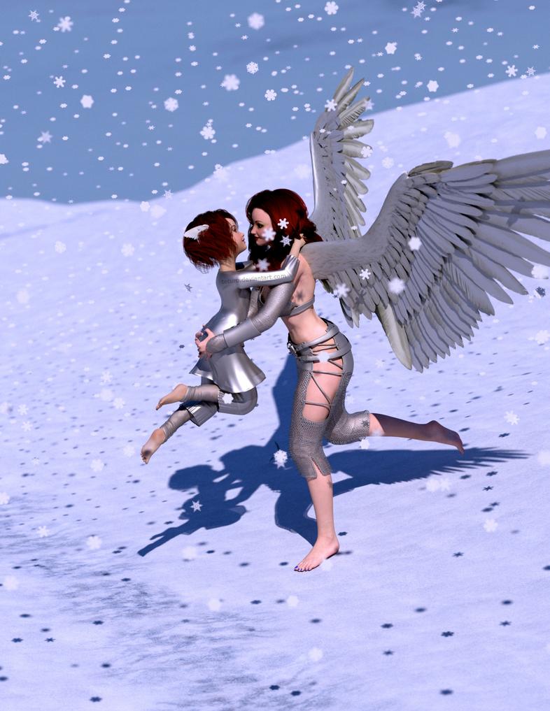 Snow Dancers by teturo