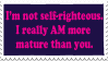 A Self-Righteous Stamp by rcsi1