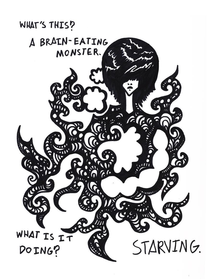 Brain Eating Monster