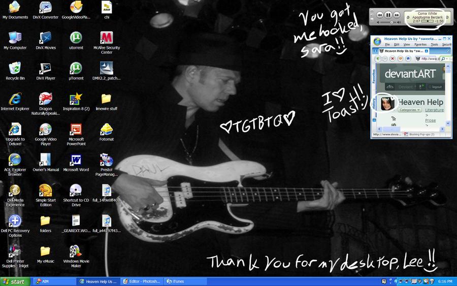 New Desktop Screenshot