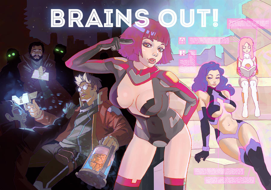 brains out! by Kuvshinov-Ilya