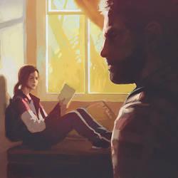 The Last of Us fanart by Kuvshinov-Ilya