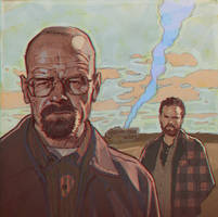 Breaking Bad by Kuvshinov-Ilya