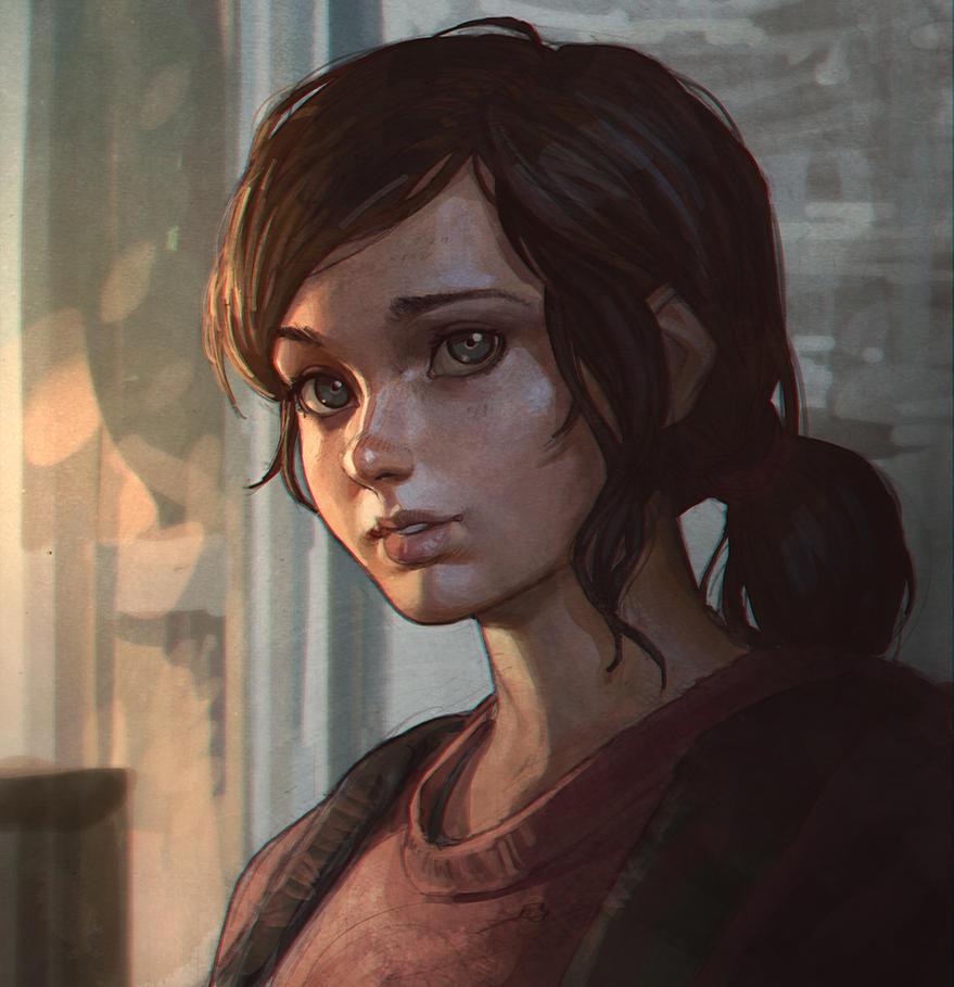 Ellie The Last Of Us by KR0NPR1NZ