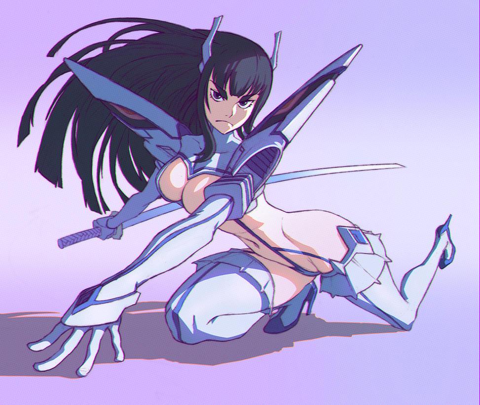 Kill la Kill Satsuki by KR0NPR1NZ