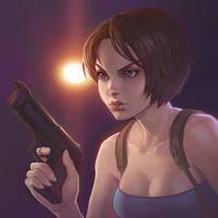 Jill Valentine by Kuvshinov-Ilya