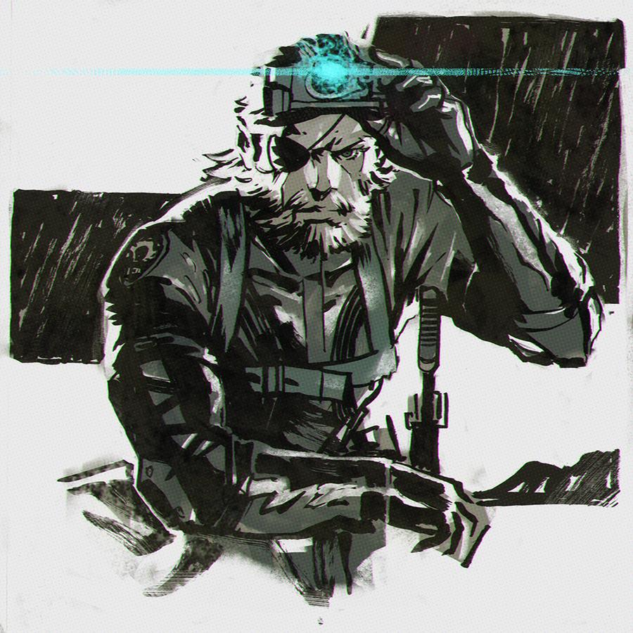 Metal Gear Solid V Ground Zeroes By Kuvshinov Ilya On