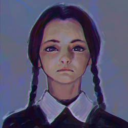 Wednesday Addams sketch