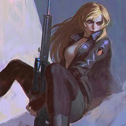 Sniper Wolf by Kuvshinov-Ilya