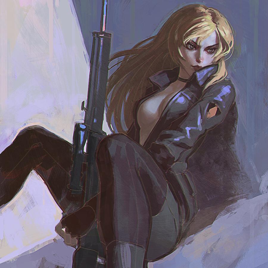 Sniper Wolf by KR0NPR1NZ