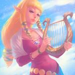 Zelda by Kuvshinov-Ilya