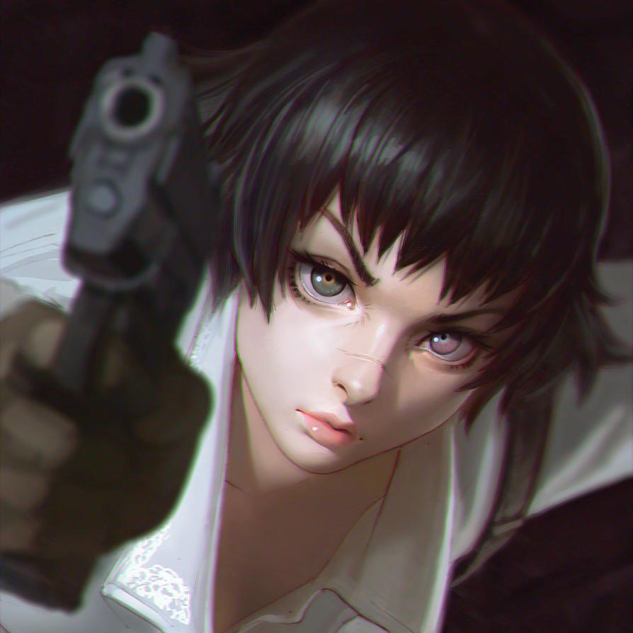Devil May Cry 3 Lady by KR0NPR1NZ