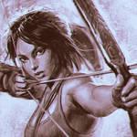 Tomb Raider sketch
