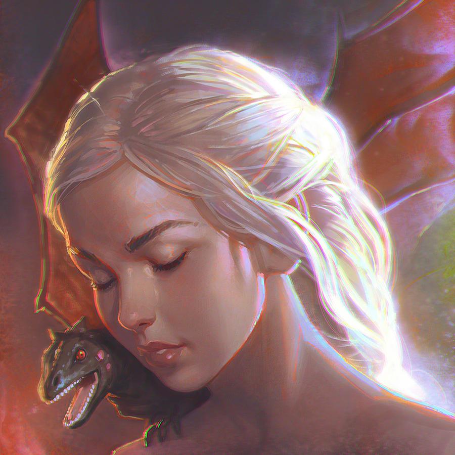 Daenerys by KR0NPR1NZ