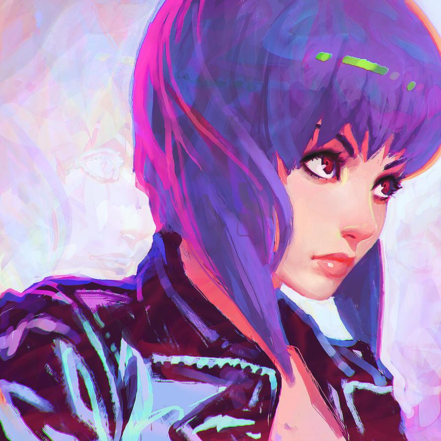 Motoko Kusanagi by KR0NPR1NZ