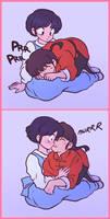 Akane and Ranma