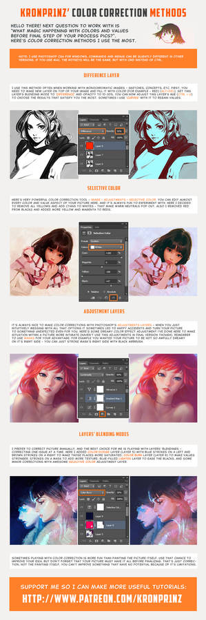 Color Correction Methods